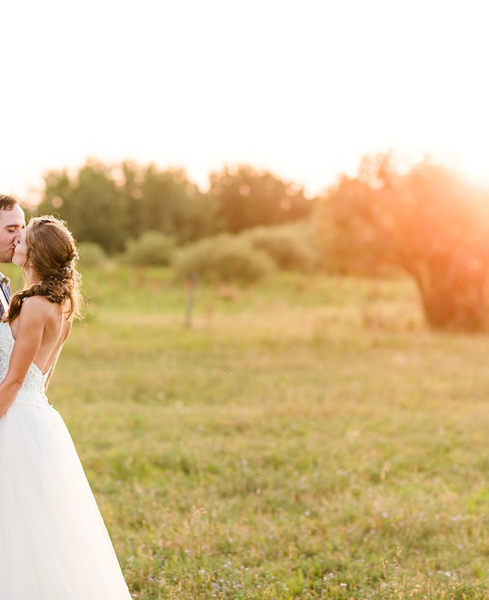 Alberta DIY Farm Wedding