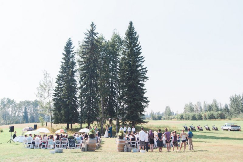 British Columbia Fairytale Forest Wedding
