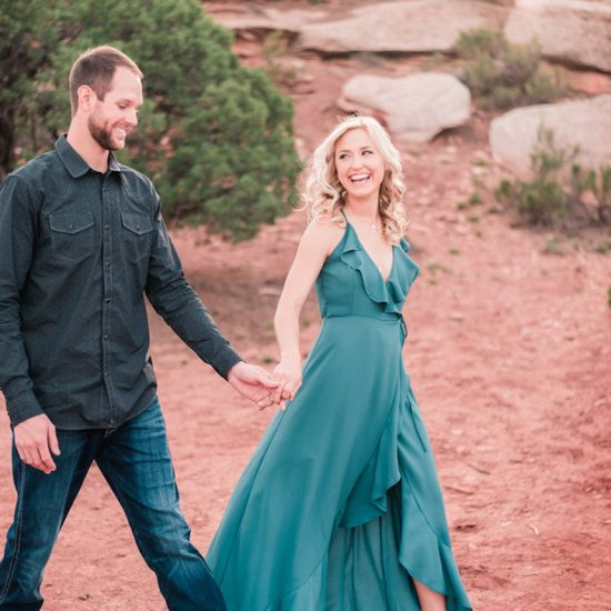 Spring Colorado National Monument Engagement