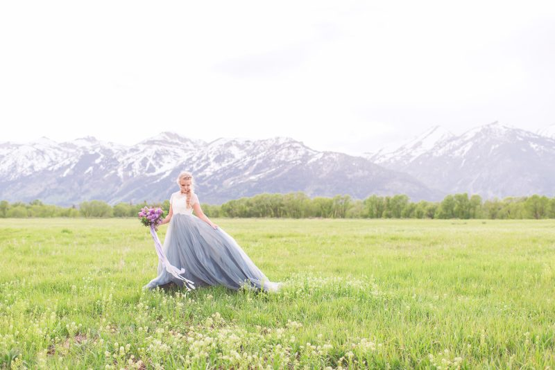 Springtime in the Mountains Wedding Inspiration
