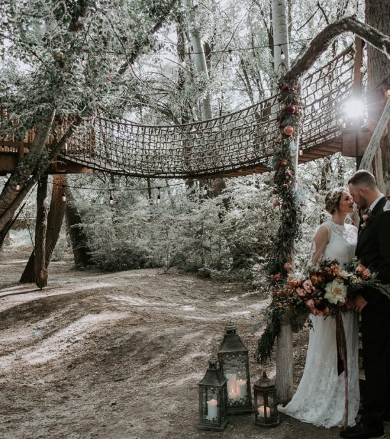 Treehouse Elopement Inspiration