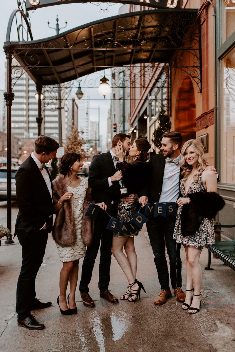 Ringing in the New Year | Colorado Wedding Proposal