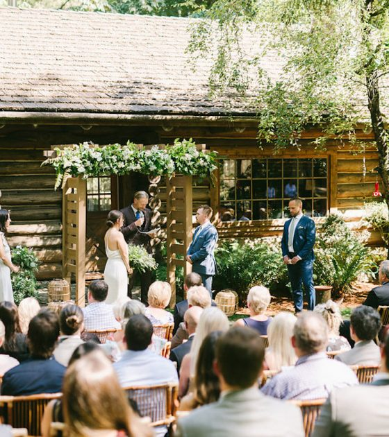 Summer Vancouver Island Wedding on Family Property