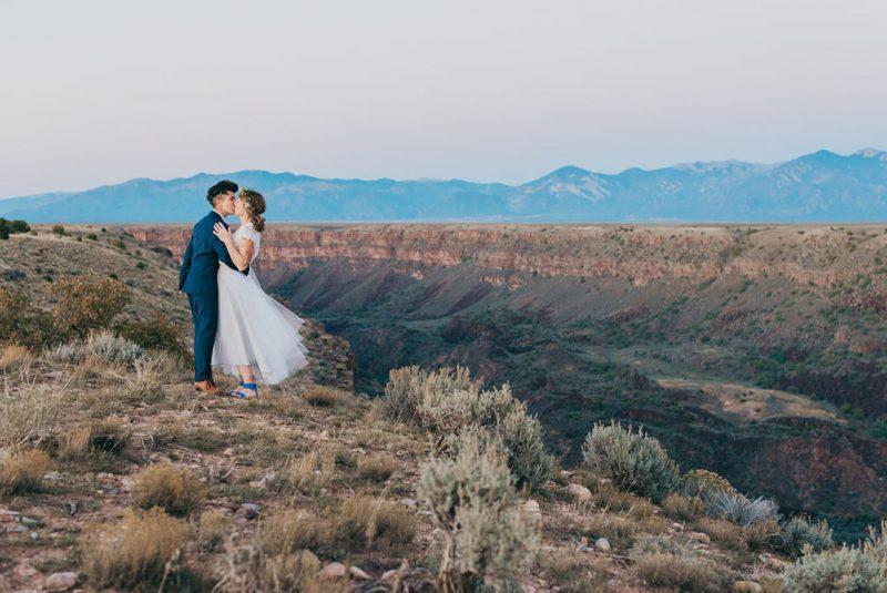 Rio Grande Gorge Elopement |  TaosElopement
