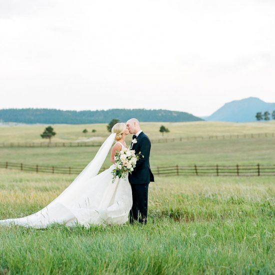 A Summer Spruce Mountain Ranch Wedding