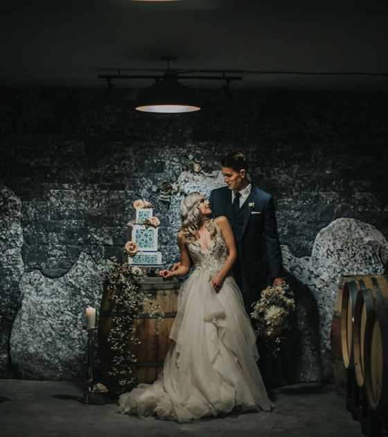 Deep Cove Winery Wedding Inspiration