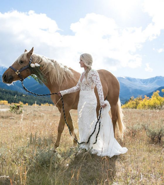 A Vibrant Fall Wedding in Red Lodge