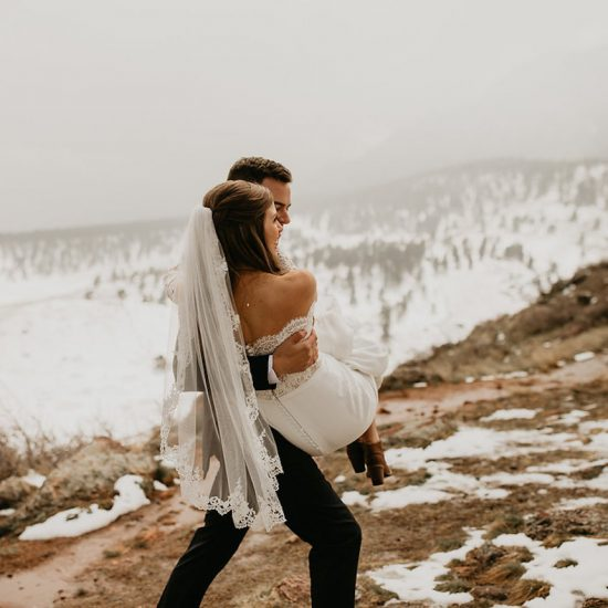 Snowy Mountain Wedding Day