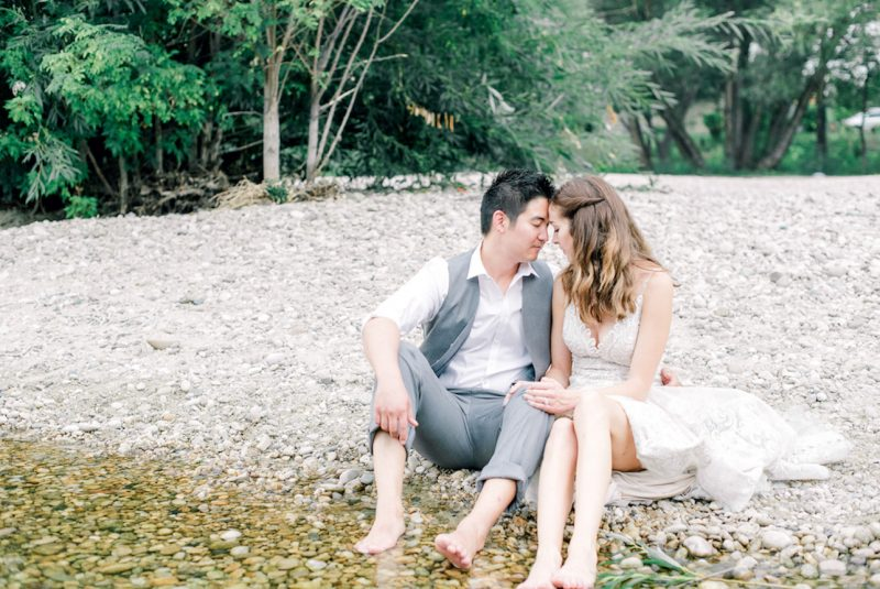 Day After Wedding Session at the Boise River