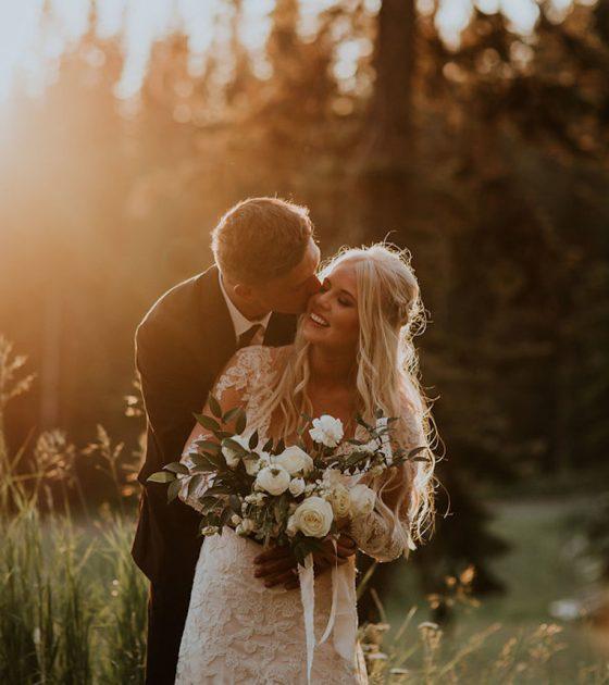 Mountaintop Wedding at Brundage Resort