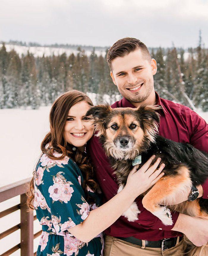 Snowy Grand Mesa Engagement