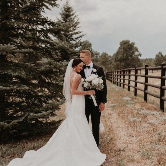 Summer Spruce Mountain Ranch Wedding
