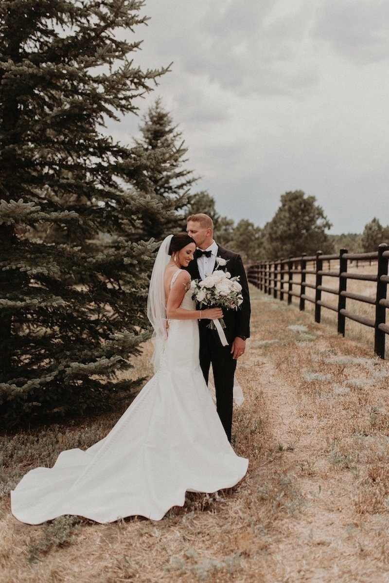 Summer Spruce Mountain Ranch Wedding