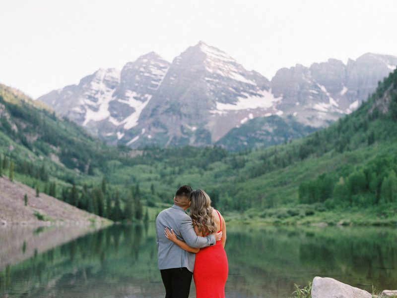 Summer Solstice Engagements in Aspen