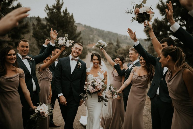 Rainy Day Wedding at Spruce Mountain Ranch