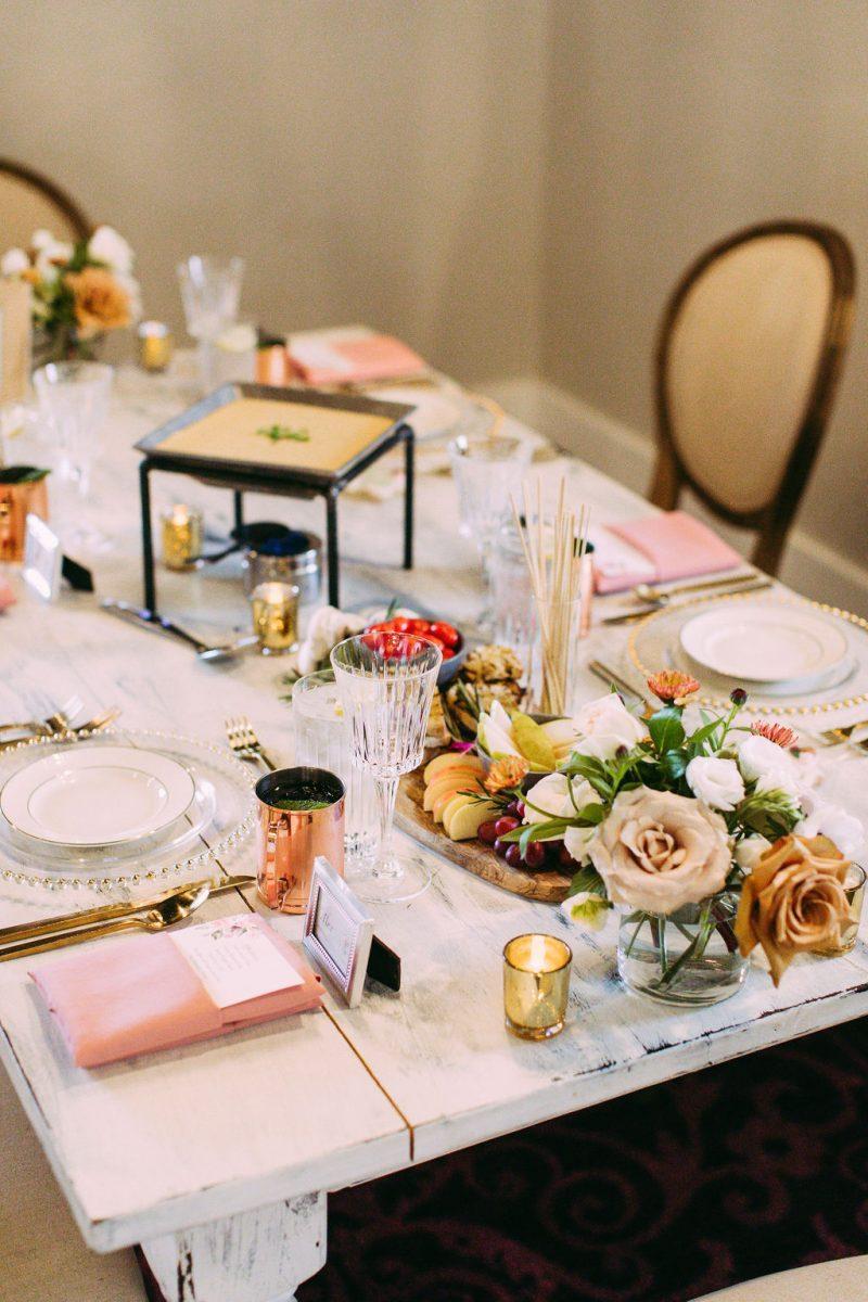 RMB Real Weddings: Taste Testing