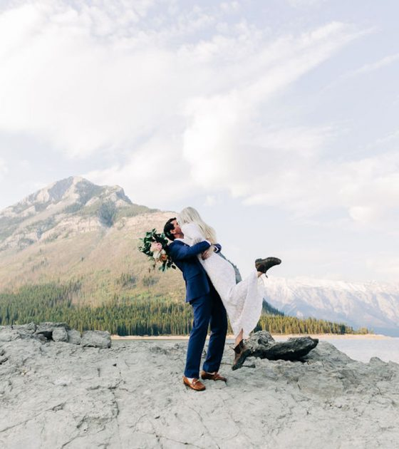 Anniversary Session at Lake Minnewanka
