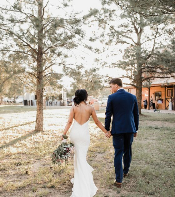 New Mexico Wedding at the Enchanted Vine Barn