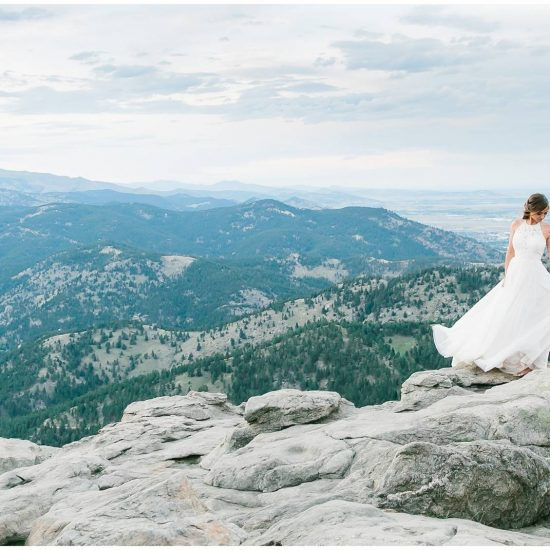 Boulder Colorado Styled Elopement
