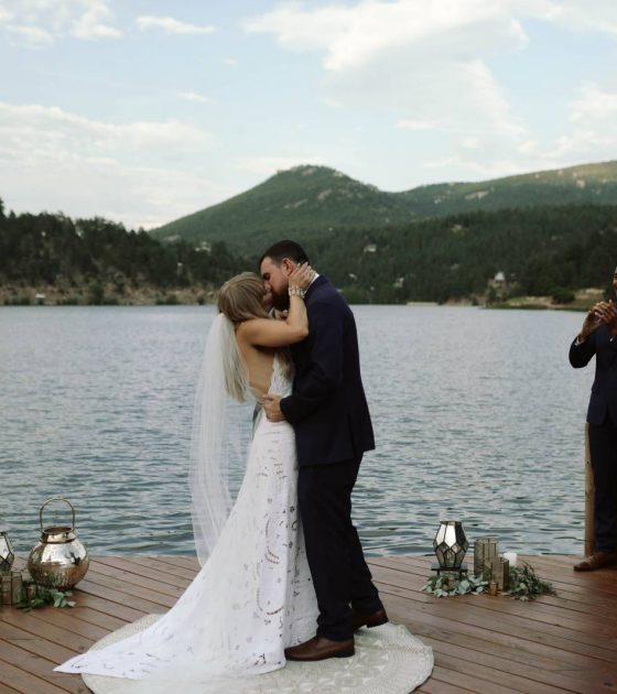 Free-Spirited Evergreen Lake House Wedding
