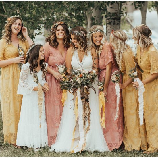 Charming Midnight Ranch Wedding