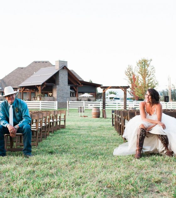 Rustic Kelowna Home Wedding