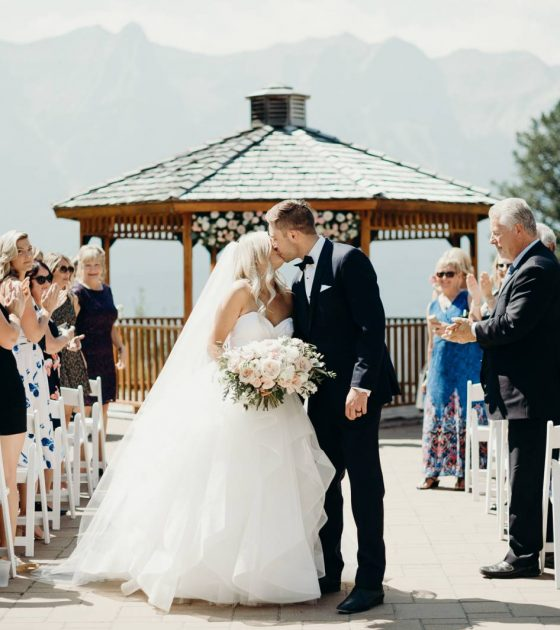 Summer Canmore Wedding