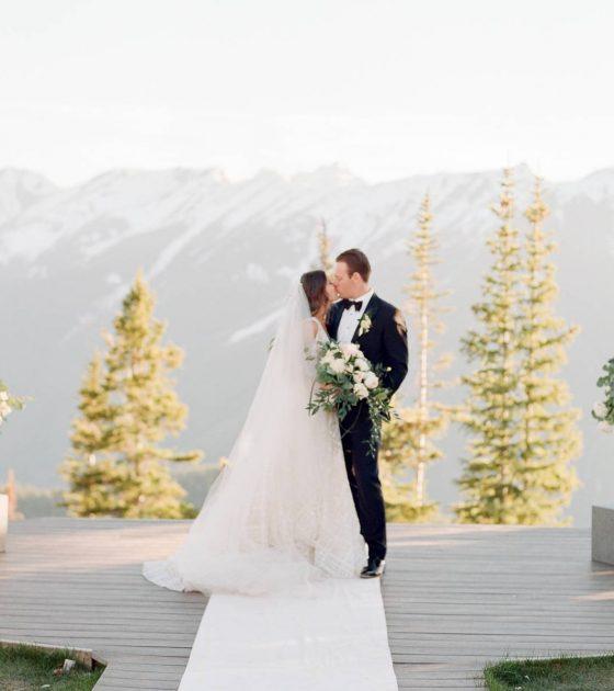 Stunning Aspen Mountaintop Wedding