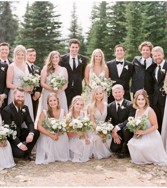 Schweitzer Mountain Resort August Wedding