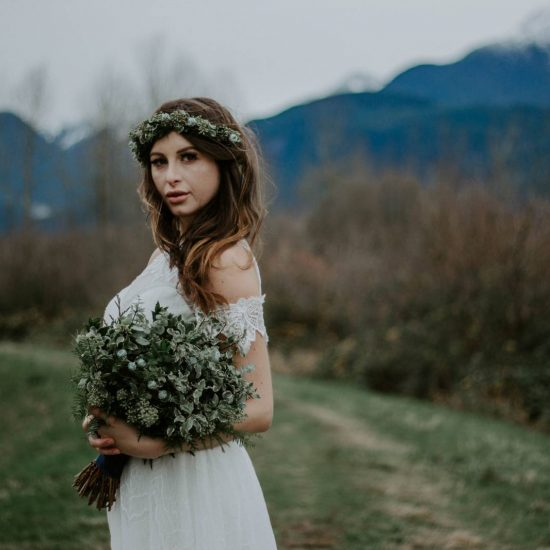 Boho Bridals at Pitt Lake