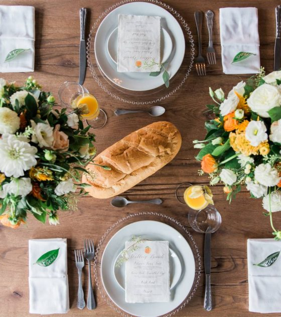Canmore Brunch Wedding Inspiration