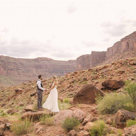 Moab Under Canvas Elopement