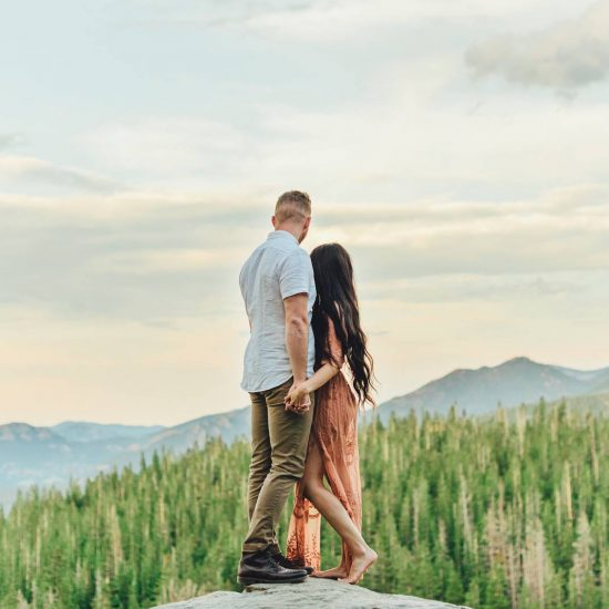 Stunning Dream Lake Engagement