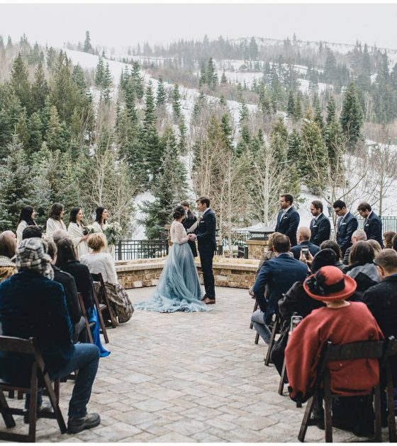 Destination Park City Winter Wedding