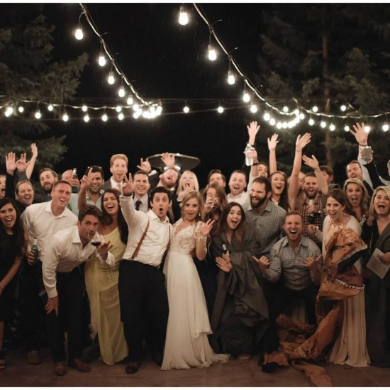 Destination Wedding at Historic Eureka Lodge