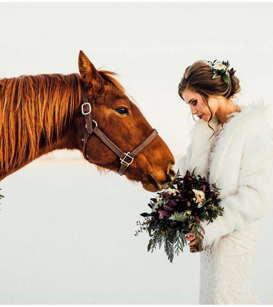 Rustic Bridal Shoot Inspirations
