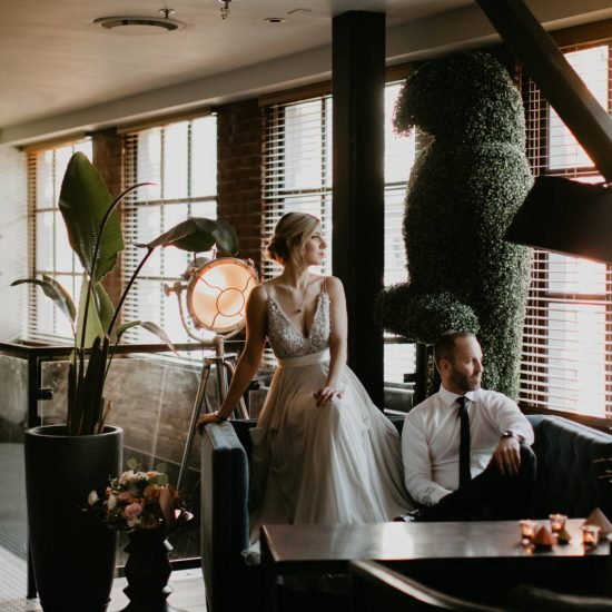 Simply Stunning Loft Wedding Inspiration