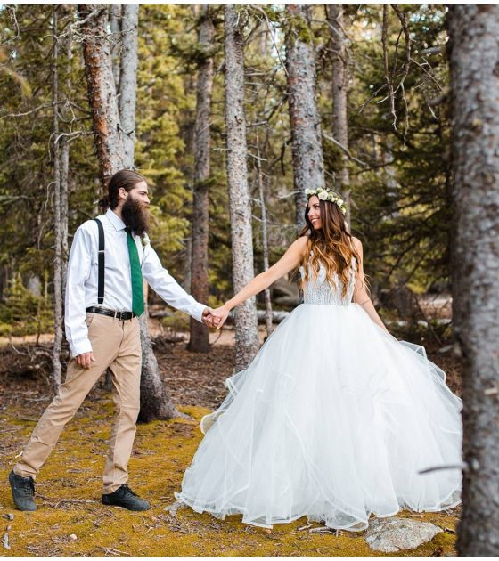 Whimsical Mountain Elopement Inspiration