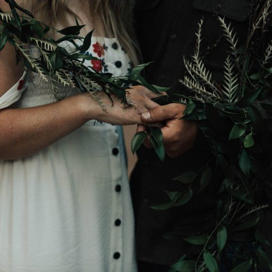 Waterfall Elopement and Glamping Inspiration