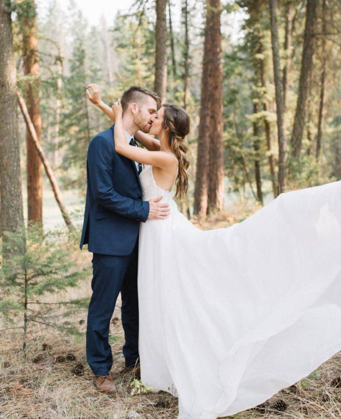 Okanagan DIY Backyard Wedding