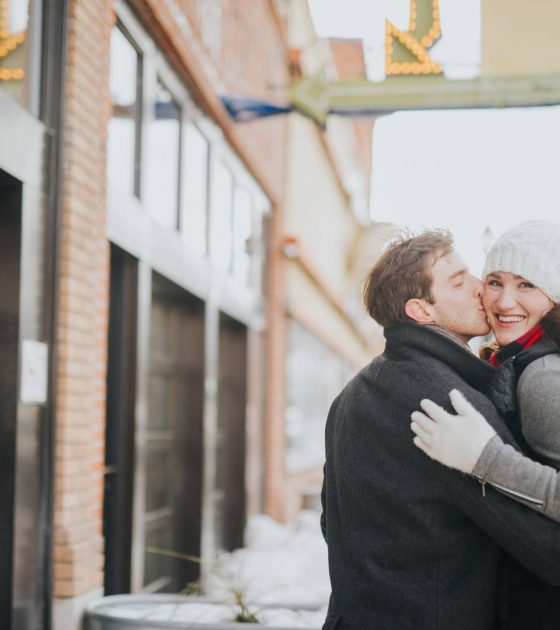 Paradise Valley Winter Engagement