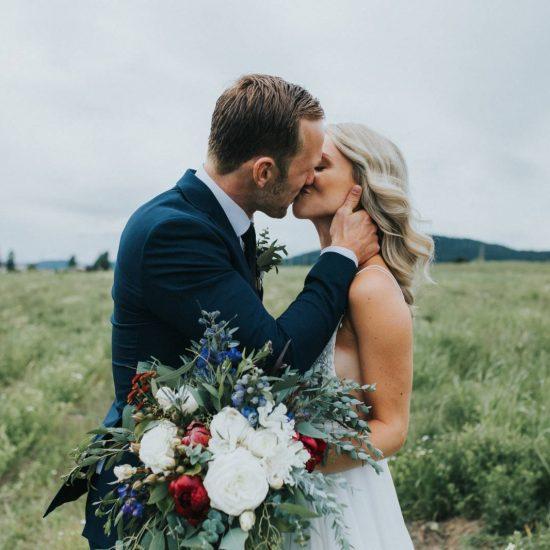Sweet Couple Marries on Vancouver Island