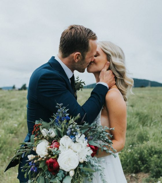 Gorgeous Couple Marries on Vancouver Island