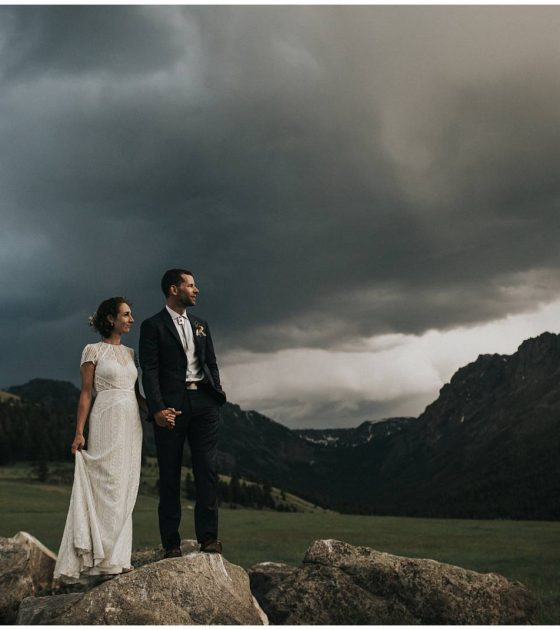 Montana Ranch Americana Wedding