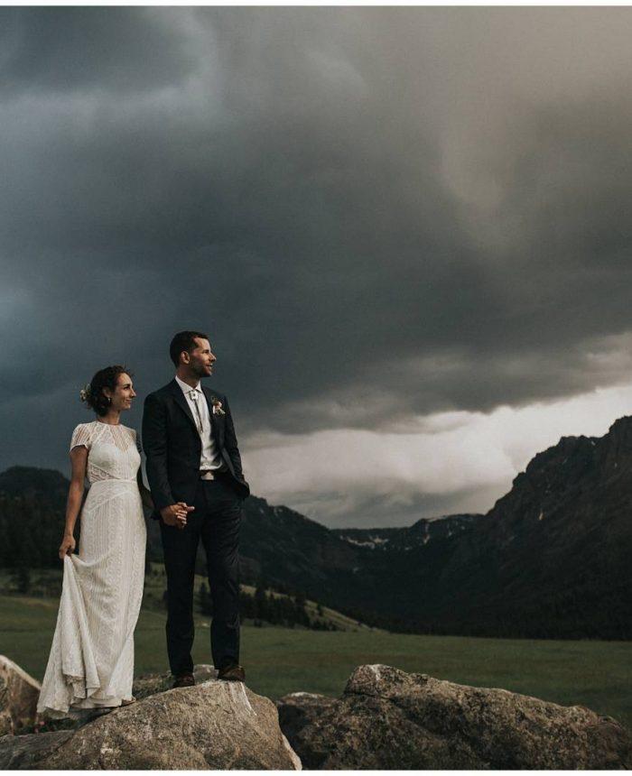 Montana Ranch Americana Wedding