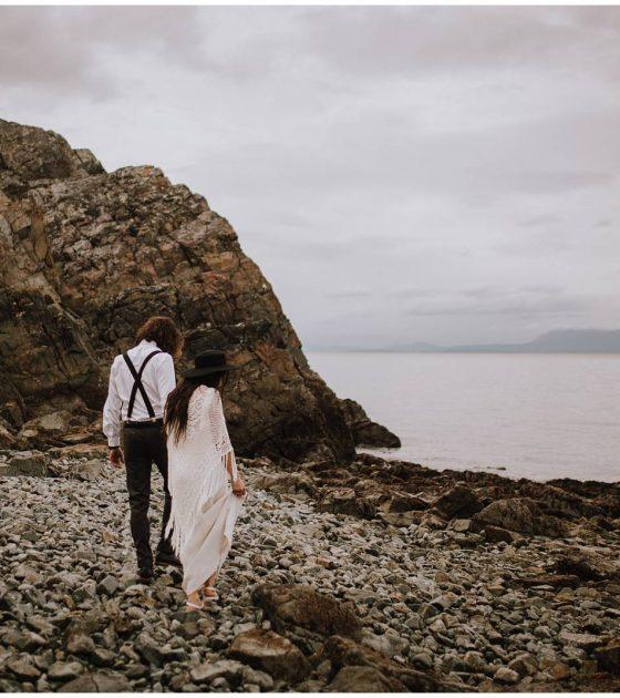 West Coast Bohemian Bridals