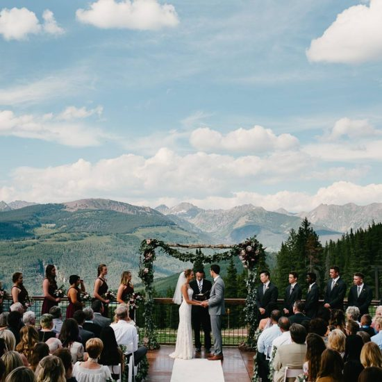 Summer Vail Wedding