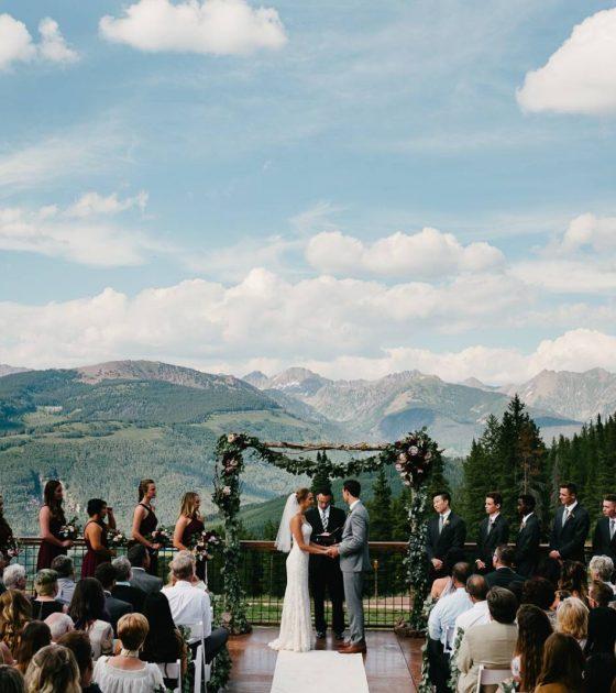 Summer Vail Wedding