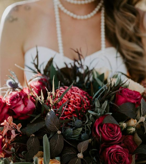 Fall Colorado Winery Wedding Inspiration