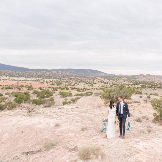 Intimate Desert Harbor Wedding